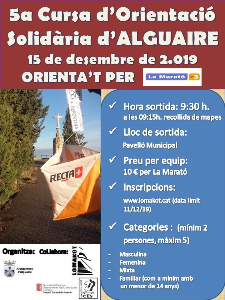 5a Cursa Orienta't per La Marató TV3, RESULTATS I FOTOGRAFIES